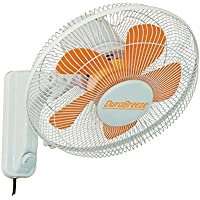 Sunleaves DuraBreeze Orbital Wall Fan, 16