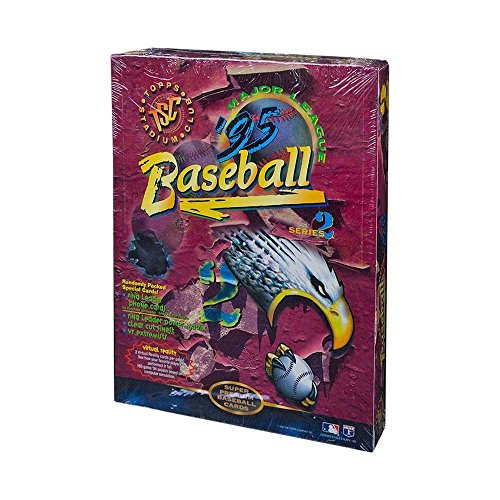 (1995 Topps Stadium Club Series 2 Baseball 10ct Rack Pack Box)