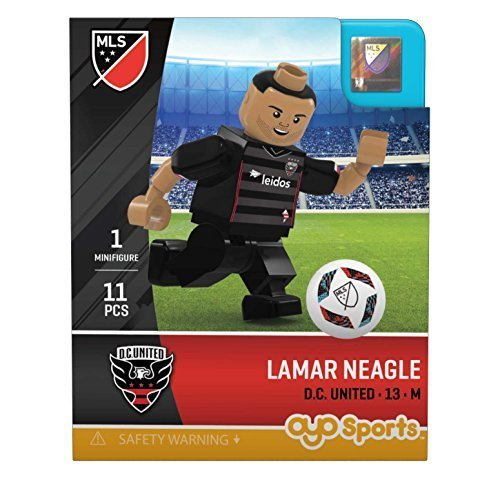 Lamar Neagle MLS OYO D.C. United G2 Mini Figure