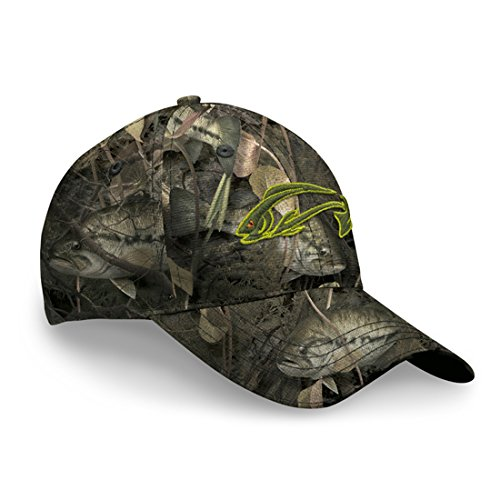 Fishouflage Bass Fishing Hat - Driftwood Bay Camo Hat