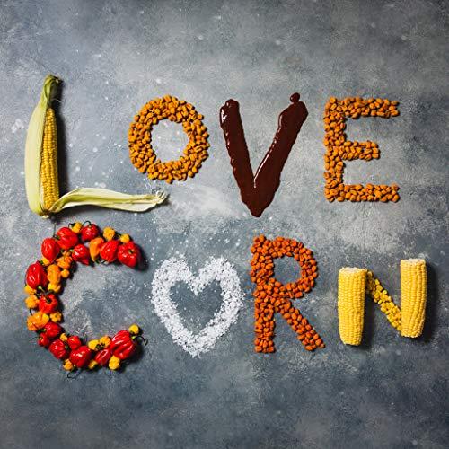 LOVE CORN: Sea Salt   Roasted Crunchy Corn - Gluten-Free - Plant based & Vegan - Healthy Snack - Low Calorie - Non GMO - (Box of 10 bags, 1.6oz each)
