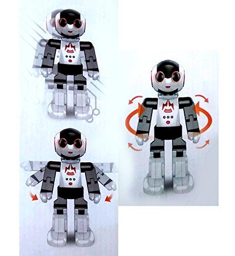 Toyshine Teetu Remote Control Induction Programmable Robot Toy, White