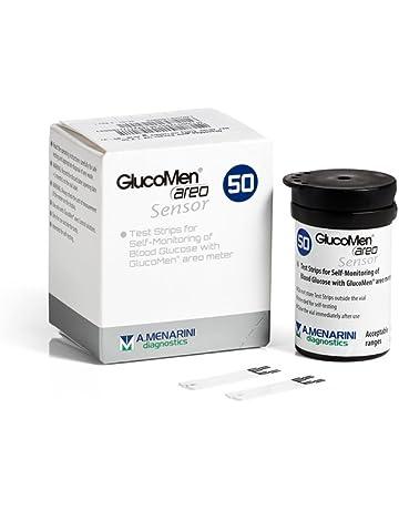 GLUCOMEN Areo Glucosa Diabetes Test Tiras (x50)