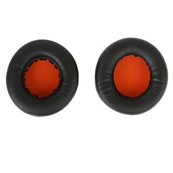 MagiDeal Un par de 90mm Desechables Reemplazos Almohadillas de Auriculares de Color Negro