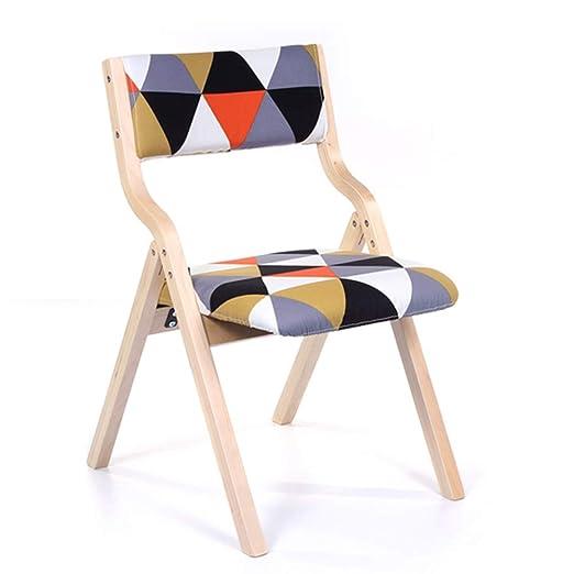 Sillas de Comedor y Mesa de Cocina, sillas Plegables para el hogar ...