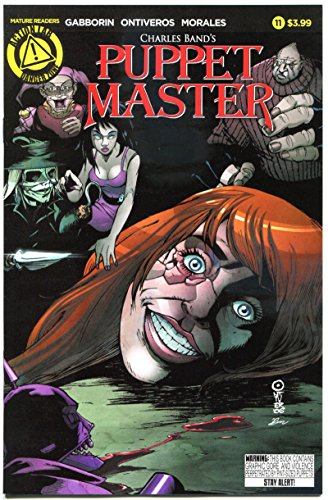 PUPPET MASTER #11, NM, Bloody Mess, 2015, Dolls, Killers, more HORROR in store, A
