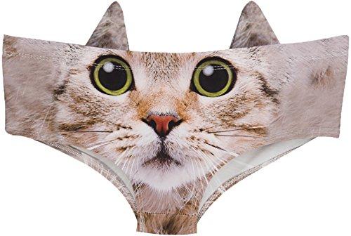 Top 10 cat underwear women thong
