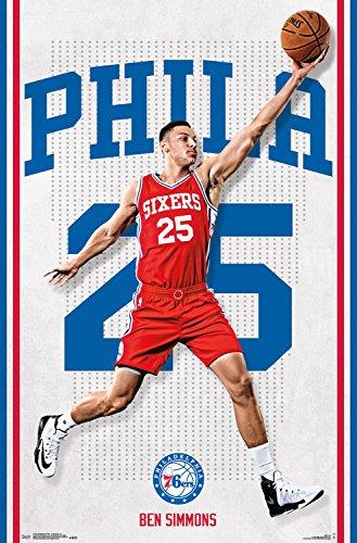 Trends International Philadelphia 76ers Ben Simmons Wall Poster 22