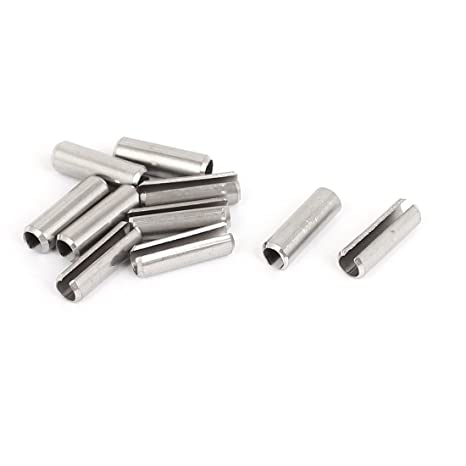 Aexit M6x20mm 304 Acero Inoxidable Split Spring Roll Dowel ...
