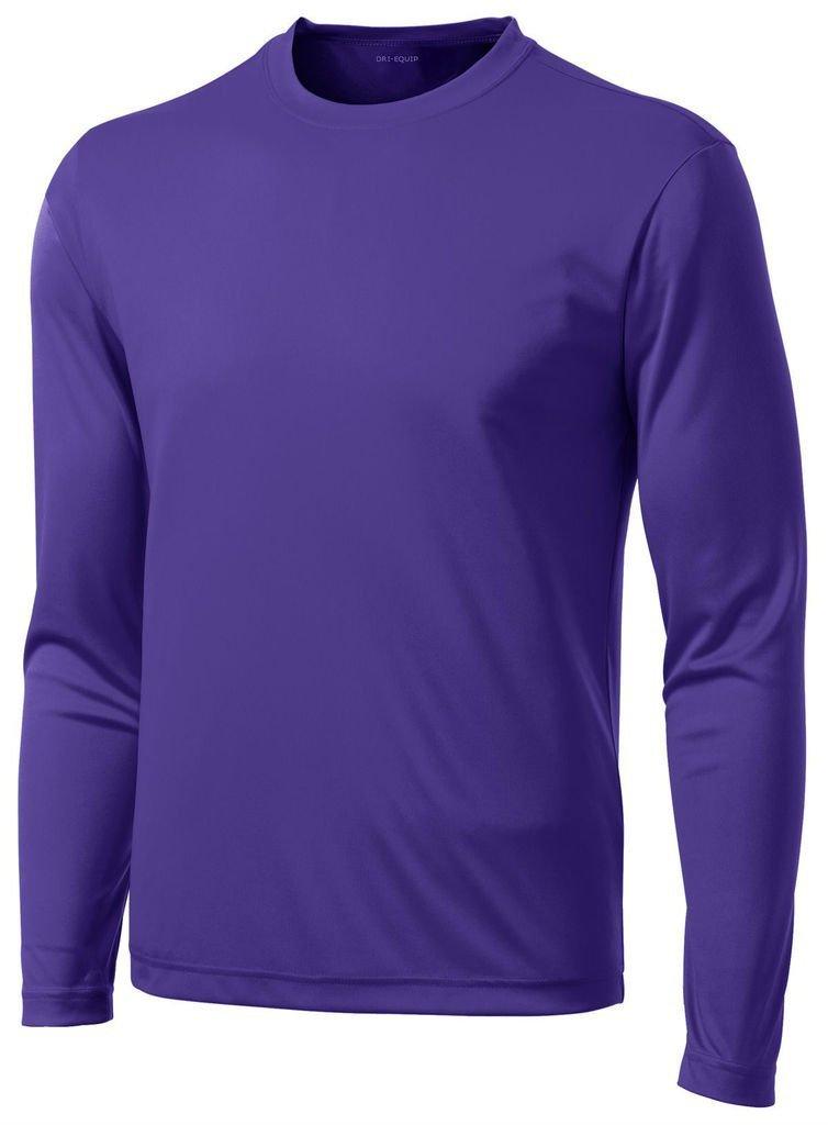 DRI-Equip Long Sleeve Moisture Wicking Athletic