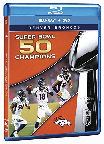 NFL Super Bowl 50 Champions: Denver Broncos [Blu-ray]