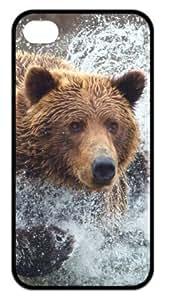 THYde Cool Deer Bear Wolf Back Case Hard Durable iPhone 6 4.7 Case ending