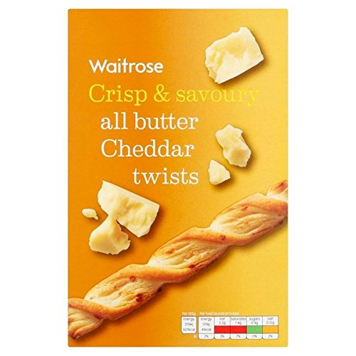All Butter Savoury Cheddar Cheese Twists Waitrose ()