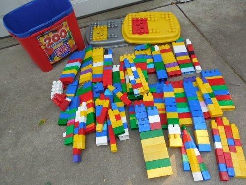 Mega Bloks 250 Pieces Large Tub Ages 1-5