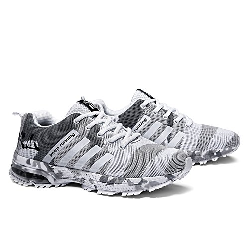 Shoes Camouflage Sports Casual Running Athletic Sneakers Trainers Air Men Women White Gym Fitness Kuako Jogging Walk xwBU6tU