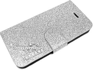 Exklusive-Cad Glamour A - Funda cartuchera para Apple iPhone 5, blanco