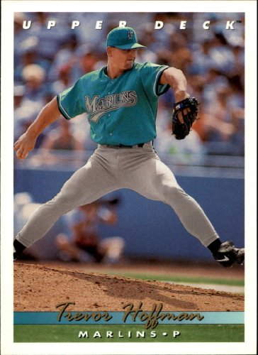 1993 Upper Deck Baseball Card #773 Trevor Hoffman (Trevor Hoffman Baseball)