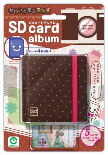 EU SD Card Album chocolate (Cosplay Shop Online)