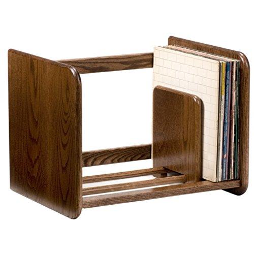 Spin-Clean Stackable Record Rack (Dark Oak)