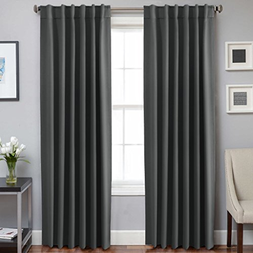 H.Versailtex Ultra Soft Thermal Insulated Back Tab Blackout - Thermal Back Curtains