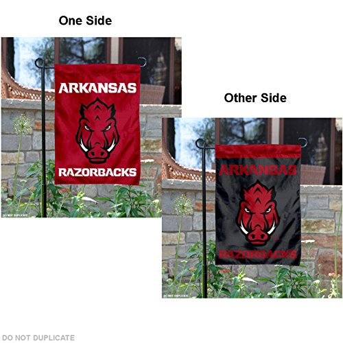 - College Flags and Banners Co. Arkansas Razorbacks Garden Flag