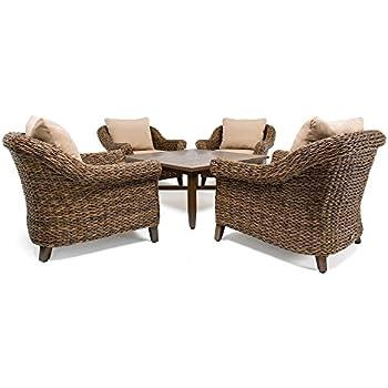 Amazon Com Blue Oak Outdoor Colfax Patio Furniture 7