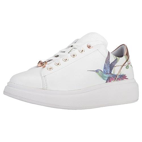 0365ef6bc8 Ted Baker Ailbe Donna Scarpe da Ginnastica White Multicolour - 8.5 ...
