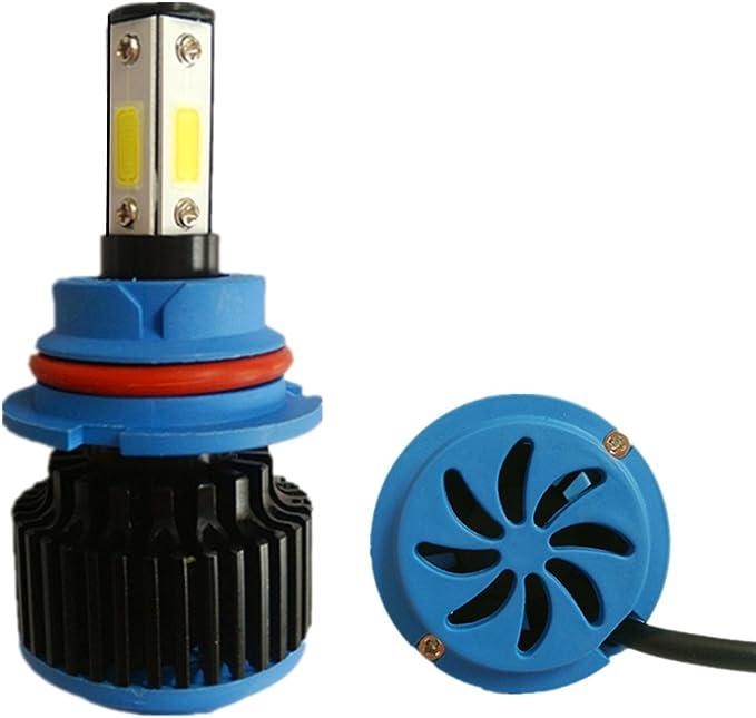 RSSONG 9007 LED coche bombillas de la linterna kit de conversión ...