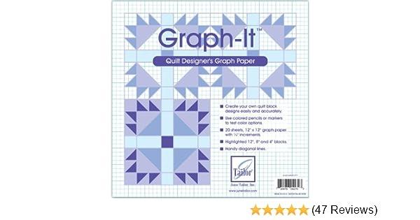 Graph-It Graph Paper-12 X12 20//Pkg
