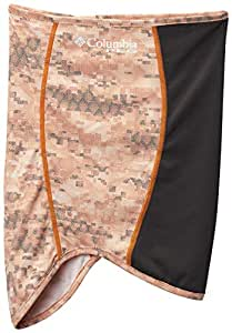 Columbia Men's PFG Deflector Neck Gaiter, Reflective, UV Sun Protection, S/M, Solar Digi Print