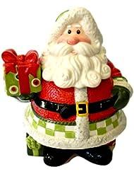 Fitz And Floyd Holiday Cheer Cookie Jar