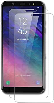 AICEK [2-Pack Protector de Pantalla Samsung Galaxy A6 Plus 2018 ...