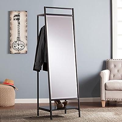 Upton Home Dobbler Hidden Coat Rack and Mirror -  - mirrors-bedroom-decor, bedroom-decor, bedroom - 51dSz%2BM17sL. SS400  -