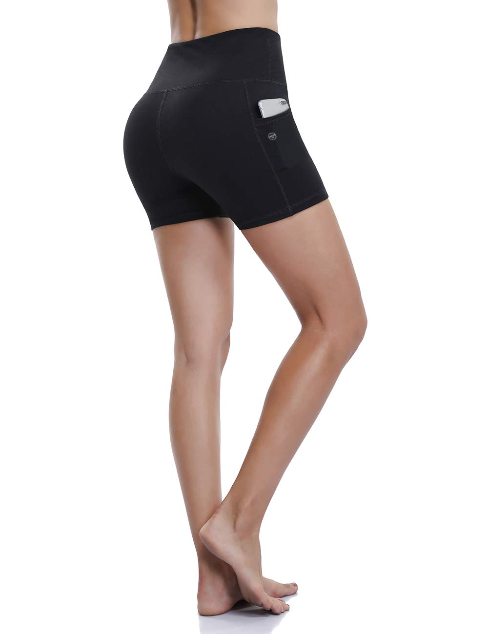 ALONG FIT Women Yoga Short with Phone Pockets