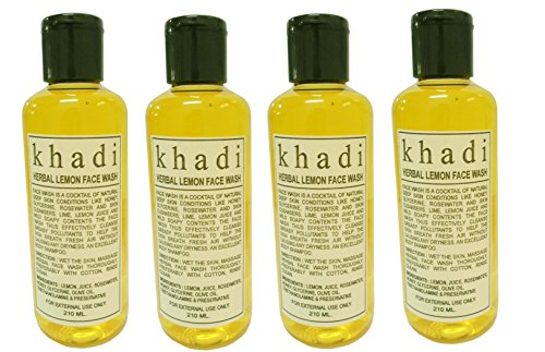 Khadi-herbal-Lemon-face-wash-840ml-SD-With-Complementary-Gifts