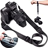 DSLR Camera Strap Quick Release | Hand Strap and ¼ Mounting Screw the Complete Bundle by BX Design