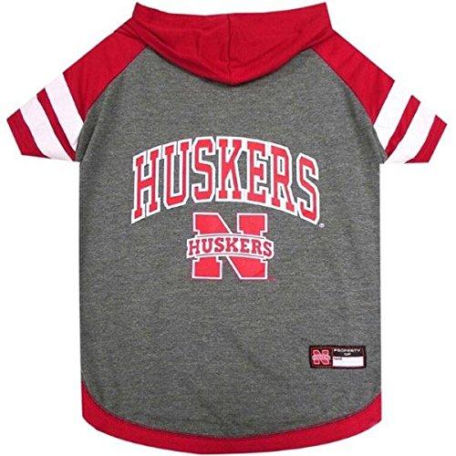 Nebraska Huskers Pet Hoodie T-Shirt - Small
