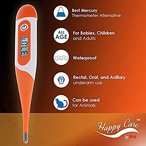 Amazon.com: Best FDA Fast 20 Seconds Digital Body Thermometer - Oral, Rectal, Axillary Armpit Underarm Termometro Digital Detecting Fever in Infants, ...