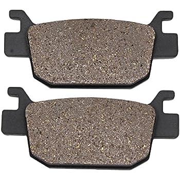 Cyleto Front Brake Pads for Honda TRX 450R TRX450R TRX450ER TRX 450 ER 2004 2005 2006 2007 2008 2009 2010 2011 2012 2013 2014