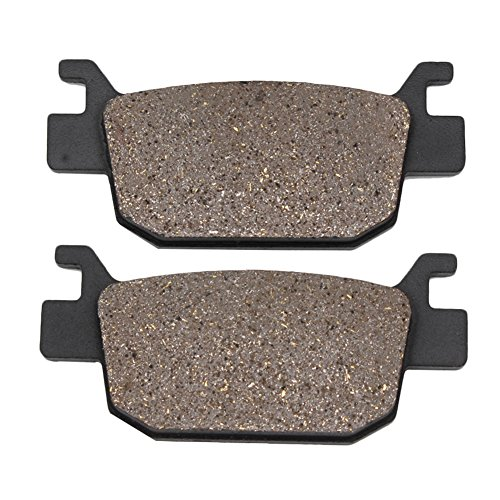 Cyleto Rear Brake Pads for HONDA NSS 250 NSS250 Forza 250 2005 2006 2007 2008 / NSS 300 NSS300 Forza 300 2013 2014 -