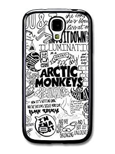 AMAF ? Accessories Arctic Monkeys Rock Band Illustration Graffiti case for Samsung Galaxy S4