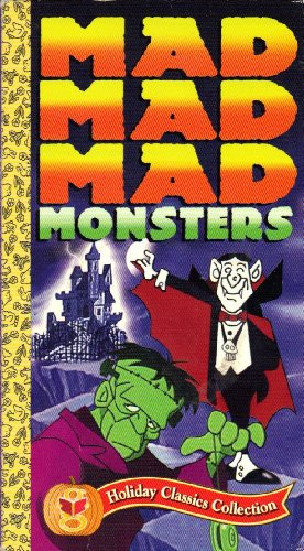 Mad Mad Mad Monsters (Animated) [VHS Video]]()