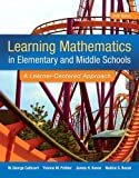 Learning Mathematics in Elementary and Middle School: A Learner-Centered Approach