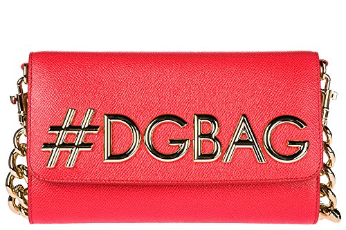 Dolce&Gabbana women's leather shoulder bag original dg girls dauphine - Handbags Dolce Gabbana 2014 And