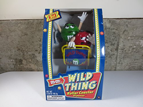 M&M's Candy Dispenser - Wild Things Roller-Coaster - Limited Edition ()