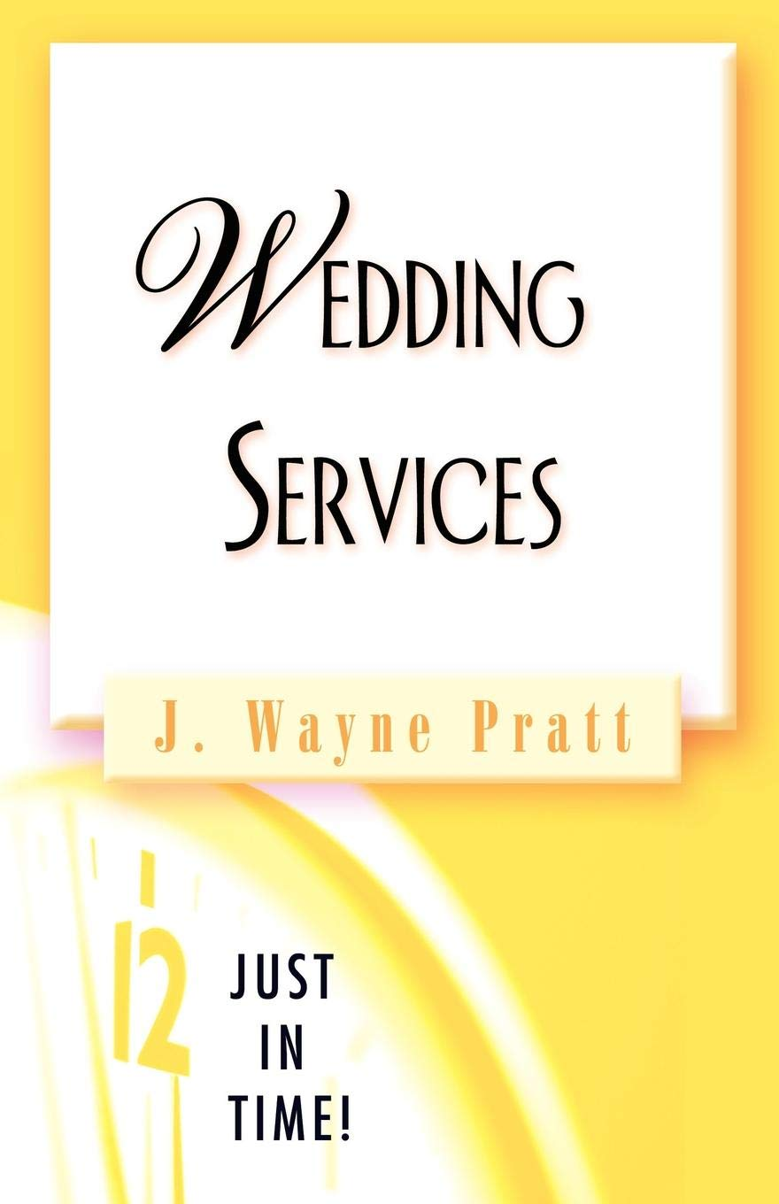 Just in Time! Wedding Services ebook