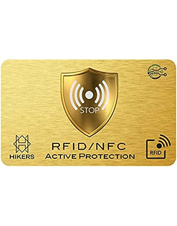 0ad1161a3 Tarjeta Anti RFID/NFC protección Tarjeta de Crédito sin Contacto, 1 suffit,  Finito