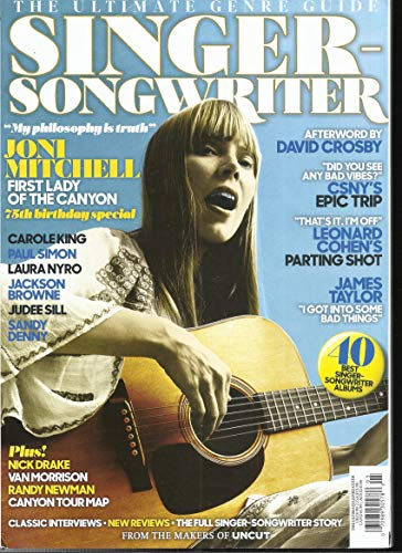 UNCUT SINGER SONGWRITER MAGAZINE, THE ULTIMATE GENRE GUIDE ISSUE, 2018 ( PLEASE NOTE :: ALL THESE MAGAZINES ARE PET & SMOKE FREE MAGAZINES. NO ADDRESS LABEL. FRESH FROM NEWSSTAND ) - Songwriter Magazine