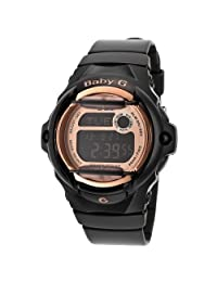 Casio Baby-G BG169G-1CR 39mm Plastic Case Black Resin Mineral Women's Watch