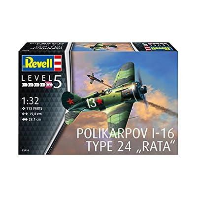 Revell 03914 Rata Polikarpov I-16 Type 24